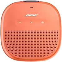 Bose SoundLink Micro Waterproof Bluetooth Speaker, Bright Orange