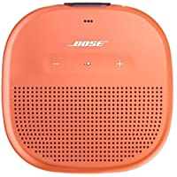 Bose SoundLink Micro - Altavoz Bluetooth Resistente al Agua, Naranja (Bright Orange)