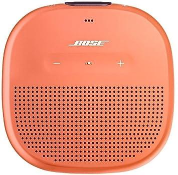 bose soundlink micro bluetooth speaker bright orange amazon co uk