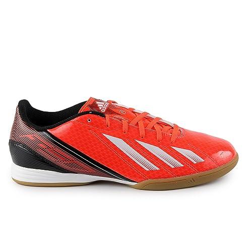 adidas F10 Indoor Soccer Shoe - Red White Black (Men) - 8 6f005dded5c5b