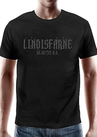 Battle Merchant Camiseta Lindisfarne - Vikingo Emboscada de 793 n.Chr. - XL