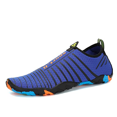 a5d8e8bab98e Image Unavailable. Image not available for. Color  Voovix Mens Womens Water  Shoes Kids Barefoot Aqua Shoes Quick Drying ...