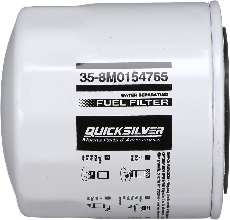 Amazon.com: Quicksilver 8M0154765 Water Separating Fuel Filter - Sierra,  GLM, Mallory, Fram, WIX: Sports & OutdoorsAmazon.com