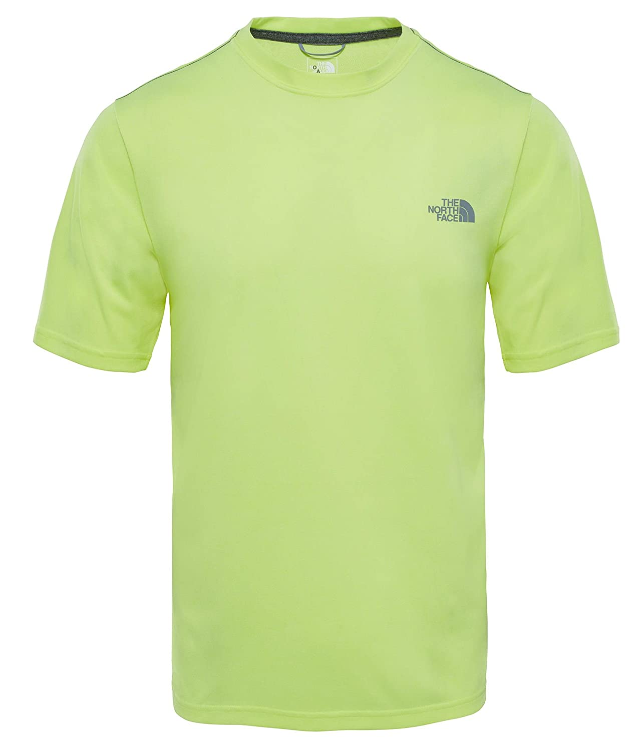The North Face M C Camiseta de Cuello Redondo Reaxion Amp, Hombre