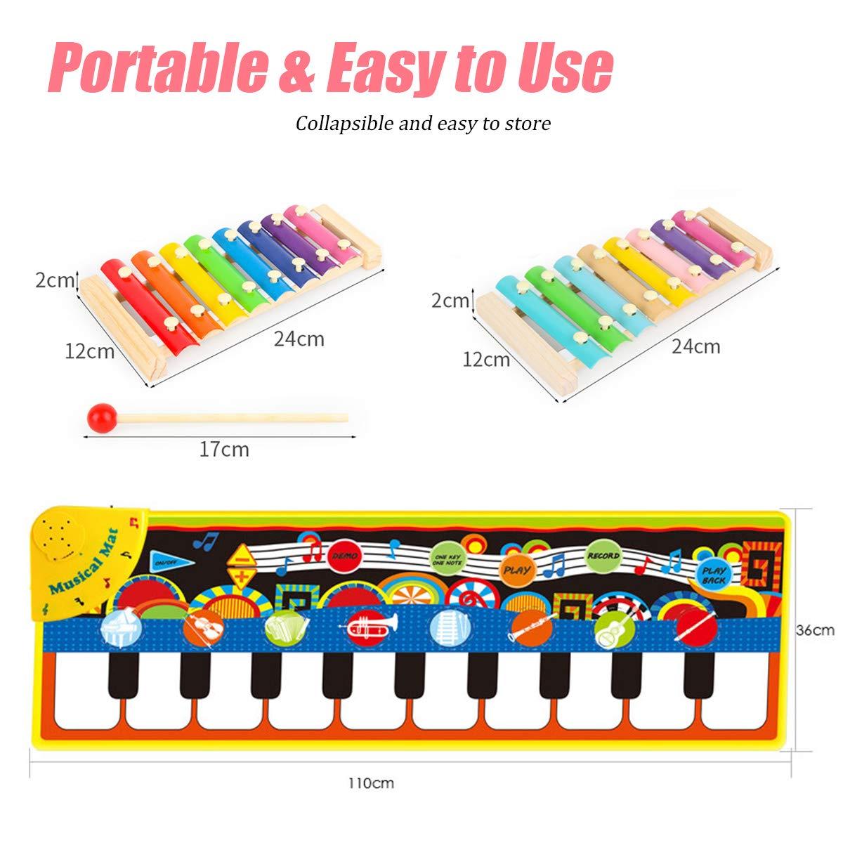 Kids Piano mat Music Toys