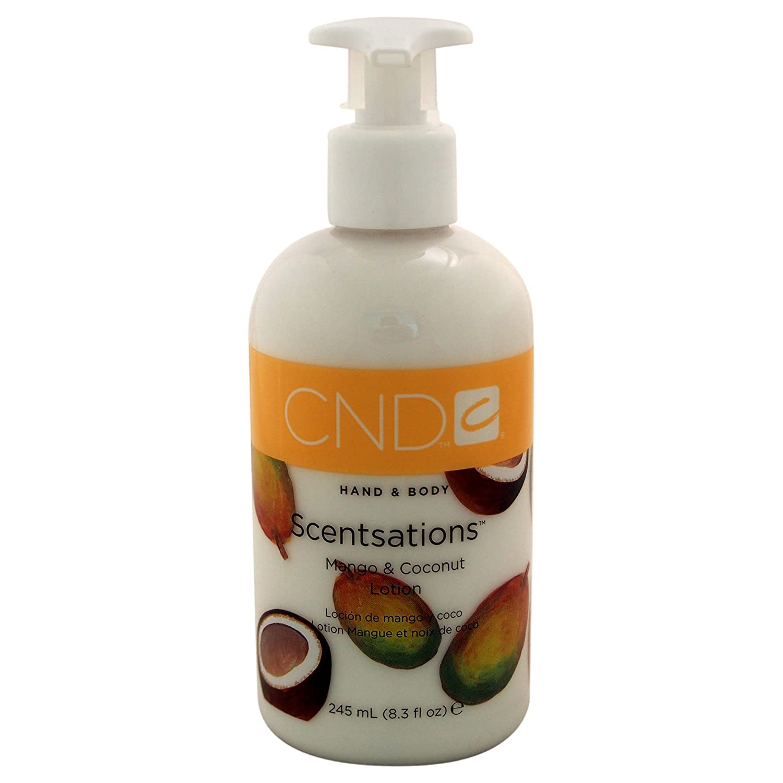 CND Hand- Bodylotion Scentsations Mango und Coconut, 1er Pack (1 x 245 ml) 511313