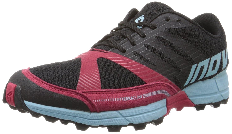 Inov-8 Women's Terraclaw 250 Trail Running Shoe B00QUTUT6A 8 B(M) US|Black/Berry/Blue