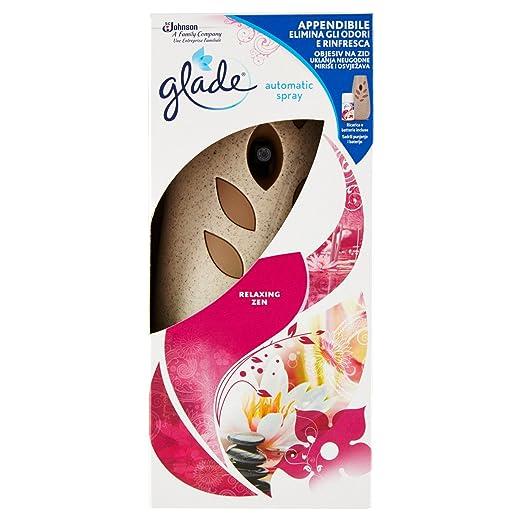 9 opinioni per Glade Automatic Spray Base con ricarica- Fragranza Relaxing Zen- 269 ml