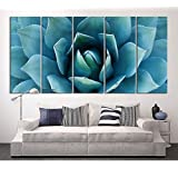 Amazon Price History for:EZON-CH Large Wall Art Blue Agave Canvas Prints Agave Flower Large Art Canvas Printing Extra Large Canvas Wall Art Print 60 Inch Total