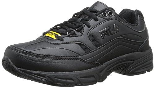skilful manufacture variety design huge sale Fila Women's Memory Workshift Slip Resistant Work Shoe
