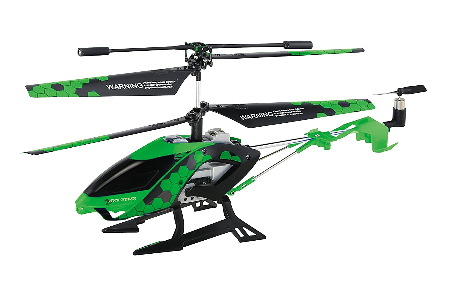 Sky Rover Stalker, 3 Channel IR Gyro Helicopter, Green Vehicle by SkyRover