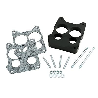 Mr. Gasket 3406 Phenolic Thermal Insulating Carburetor Spacer: Automotive
