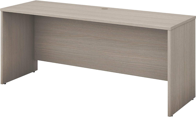 Bush Business Furniture Office 500 72W x 24D Credenza Desk in Sand Oak