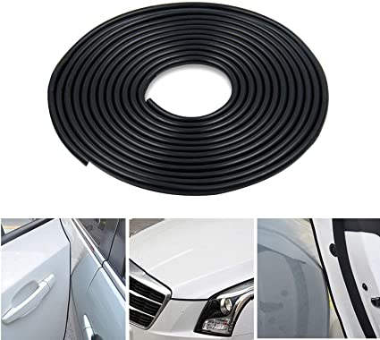 Dual Color Car Door Bottom//Side Skirt//Trunk//Corner//Bumper Protection Decor Strip