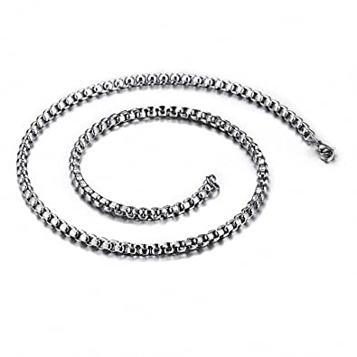 Stainless Steel 4.5mm Wheat 24in Chain