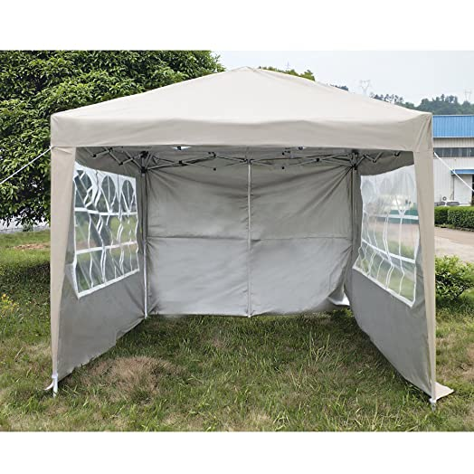 Pandamoto Pop Up Gazebo Marquee Garden Awning Party Tent Canopy Waterproof Outdoor 25