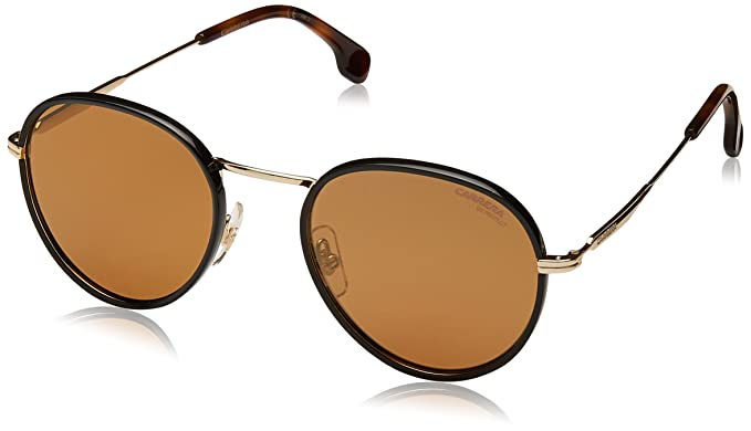 33eb91c55af2 Carrera Mirrored Round Unisex Sunglasses - (CARRERA 151/S J5G 52K1|52
