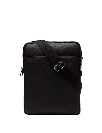 375b62527e Lacoste homme Gael Sac porte epaule Noir (Black): Amazon.fr: Chaussures et  Sacs