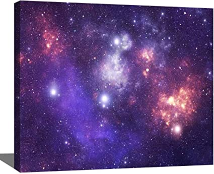 Amazon Com Diy Digital Oil Painting Set Constellation Norma Nor Colorful Space Galaxy Stock Paint By Numbers Kits For Adult Beginner Children Wooden Frame Art Craft Home Wall Decor 16x20