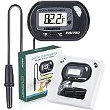 Aquarium Thermometer, RISEPRO Digital Water Thermometer For Fish Tank Aquarium Marine Temperature