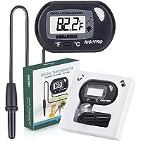 RISEPRO Aquarium Thermometer, Digital Water Thermometer for Fish Tank Aquarium Marine Temperature