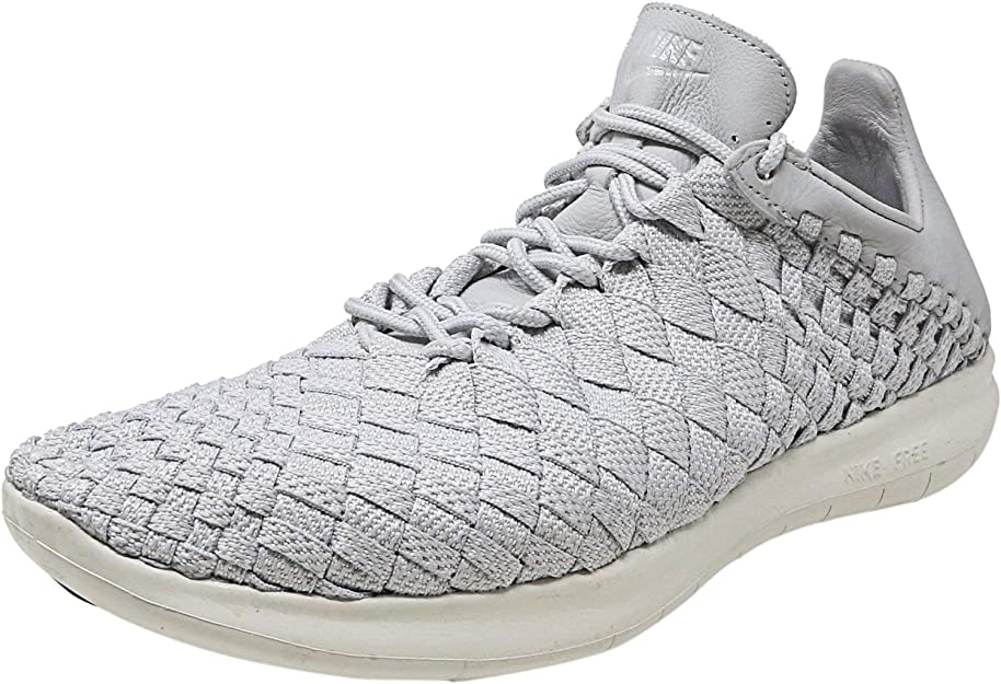 Nike Free Inneva Woven: Black popular mens casual shoes