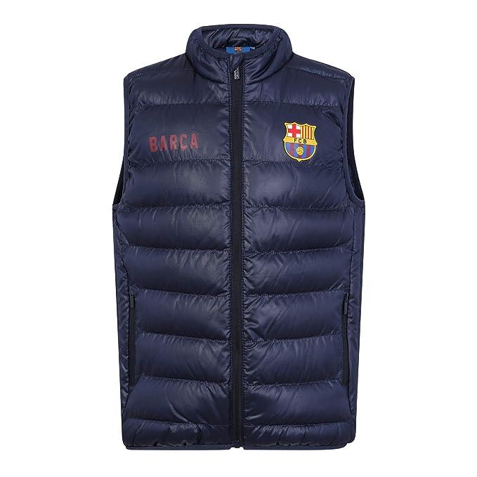 FC Barcelona - Chaleco acolchado oficial - Para niño: Amazon.es: Ropa y accesorios