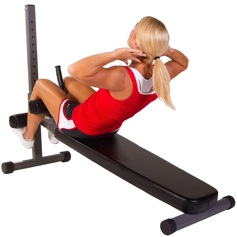 Ab Bench Part - 16: Amazon.com : XMark Fitness 11-Gauge Adjustable Ab Bench XM-7461 :  Adjustable Weight Benches : Sports U0026 Outdoors