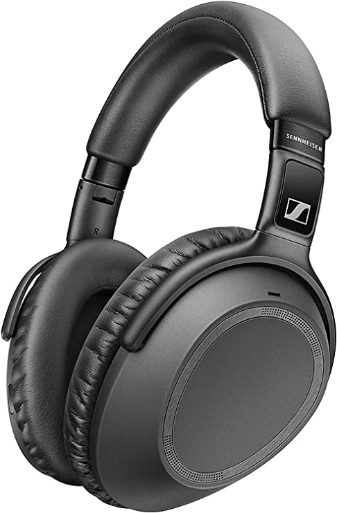 Sennheiser PXC 550-II Wireless Headphone with Alexa Built-In Black Noise Cancellation and Smart Pause
