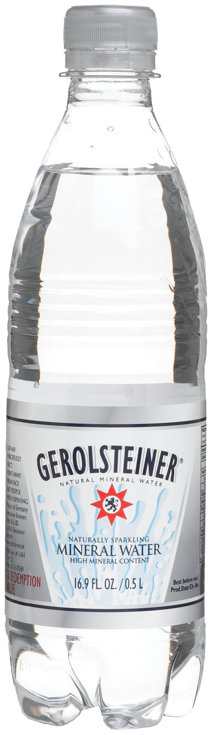 Gerolsteiner Mineral Water, 16.9-Ounce Bottles (Pack of 24)