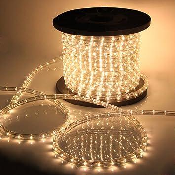 outdoor xmas lighting. vidagoods 150u0027 led rope light 110v party home outdoor xmas lighting ip67 waterproof warm s