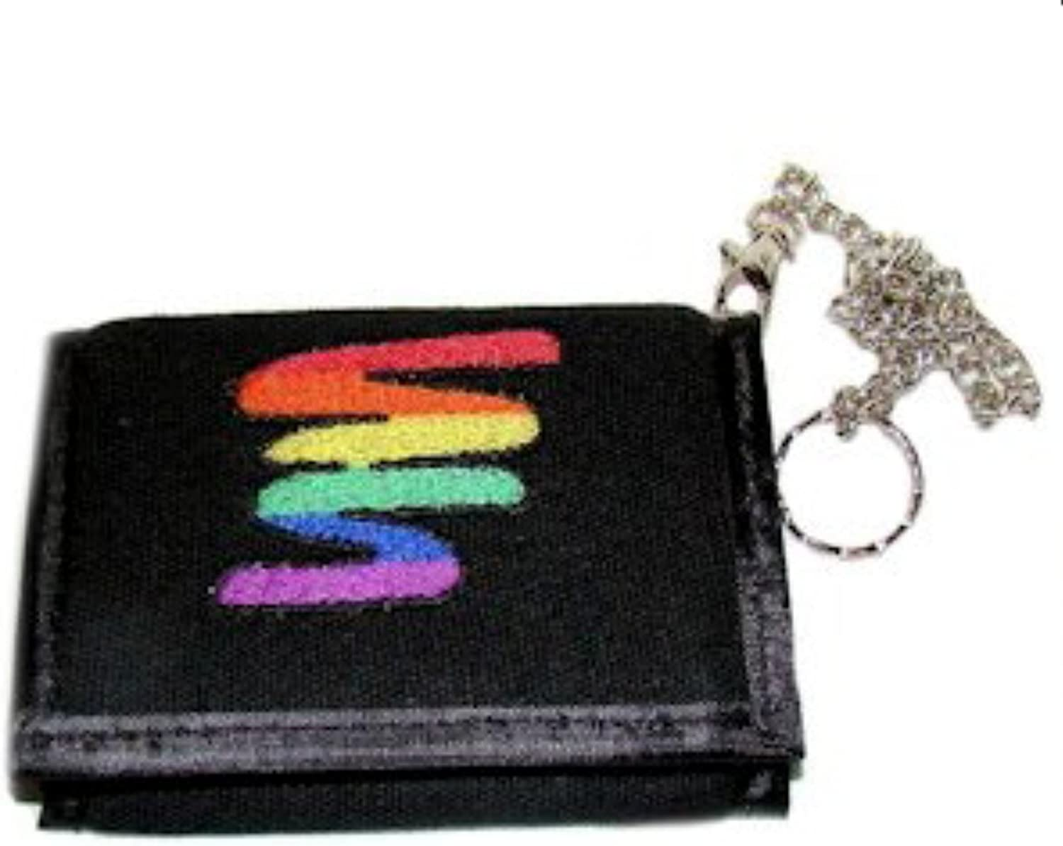 Gay Rainbow Sisters Gay Pride Trifold Wallet Bolt