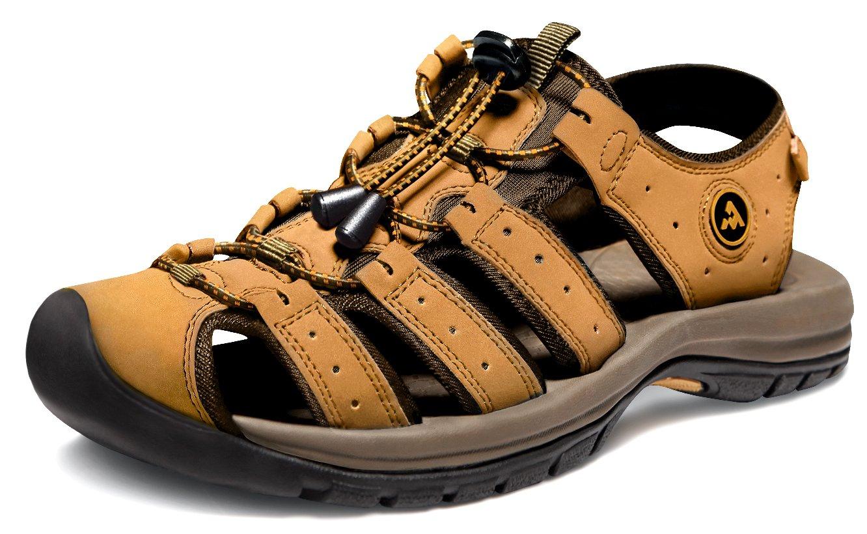 ATIKA AT-M130-CM_Men 9 D(M) Men's Sport Sandals Trail Outdoor Water Shoes M130 Cairo Orbital