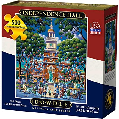 Dowdle Jigsaw Puzzle - Independence National Historic Park - 500 Piece: Toys & Games