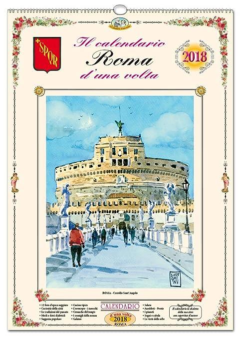 Calendario Roma.Il Calendario D Una Volta Di Roma In Dialetto