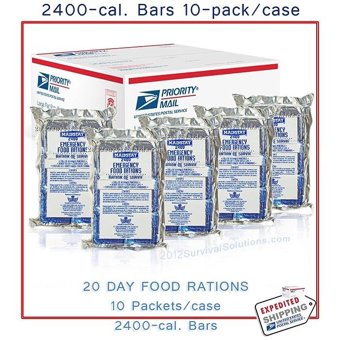 Top 10 Survival Food Bars 2400