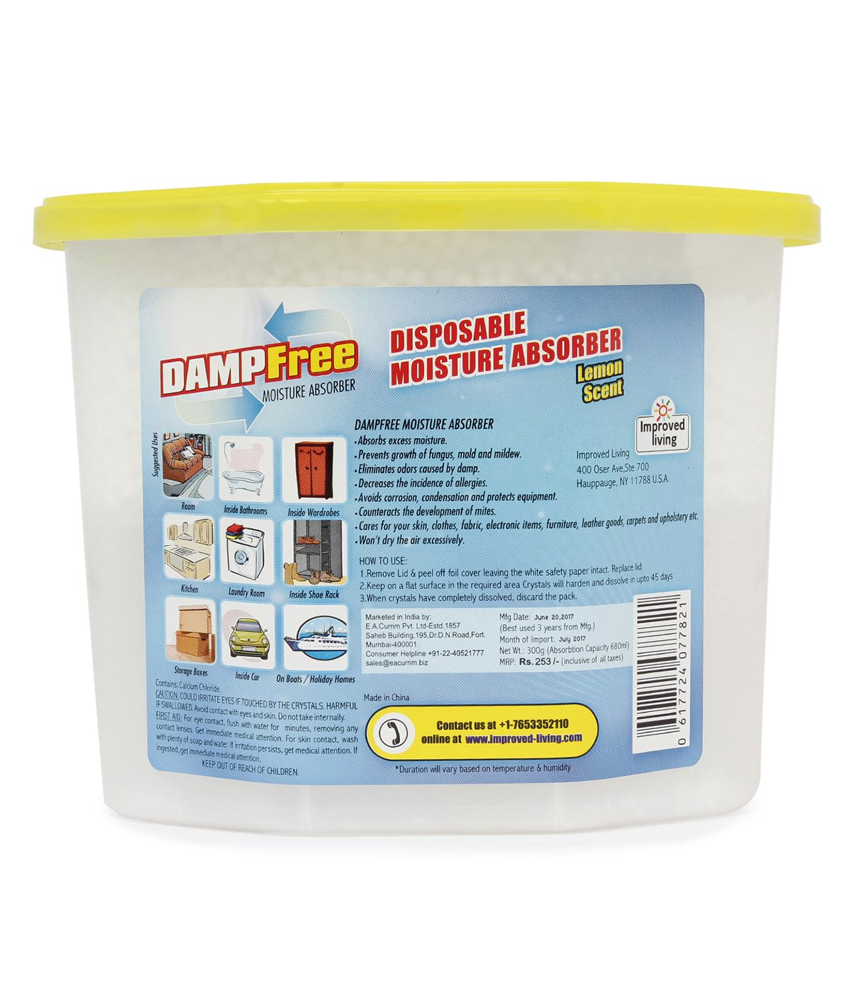 Damp free Disposable Moisture Absorber - 300g: Amazon.in: Industrial ...