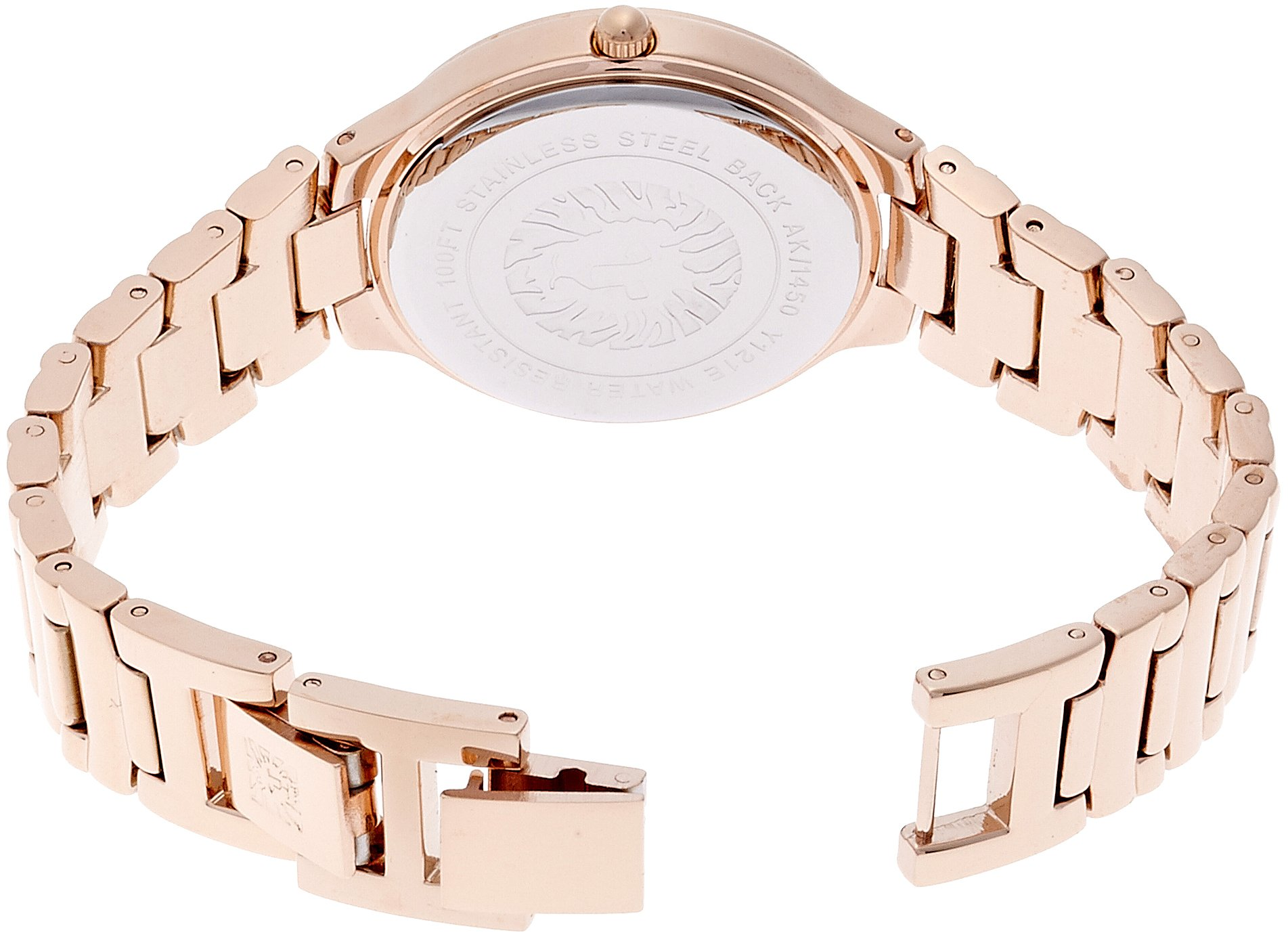 Anne Klein Women's AK/1450RGRG Rose Gold Tone Bracelet Watch by Anne Klein (Image #2)