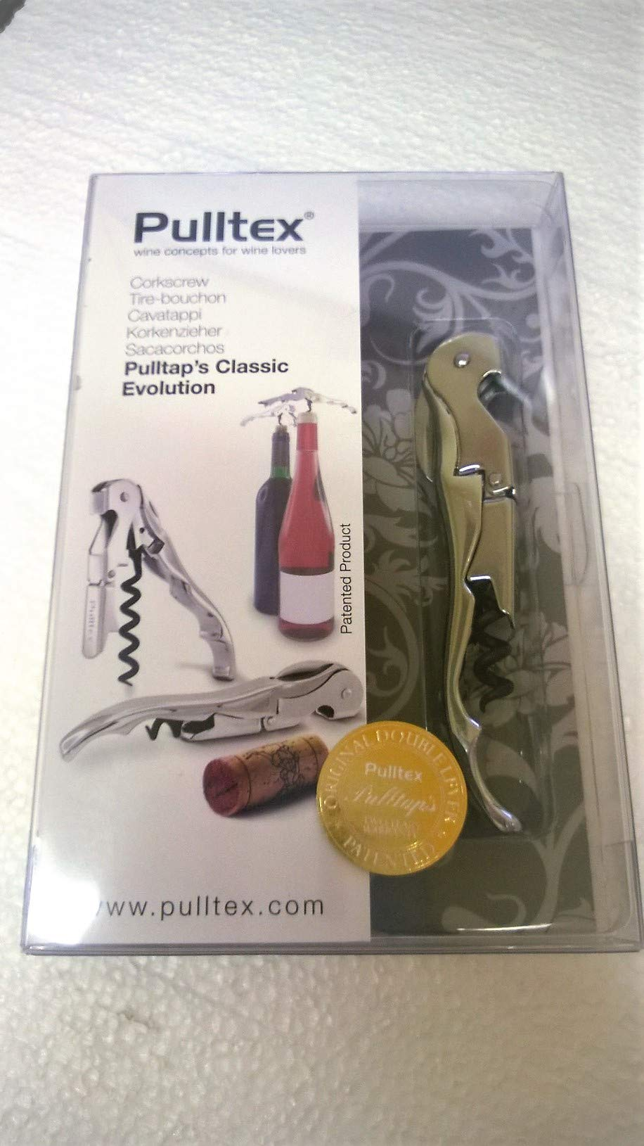 Pulltap's Classic Corkscrew, Chrome by Pulltex