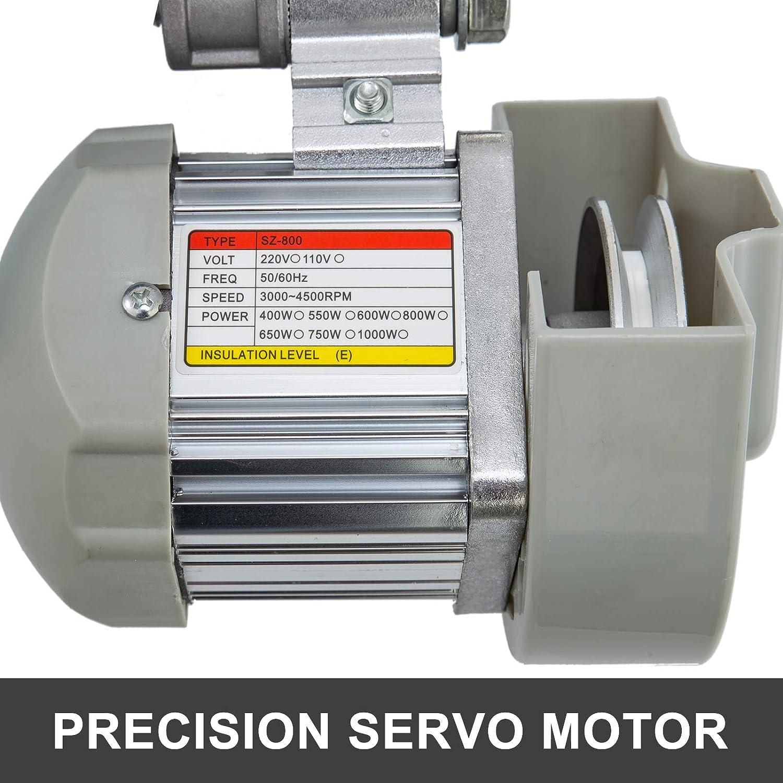 Bisujerro Motor de la Máquina de Coser 220V 550W Servo Motor de ...
