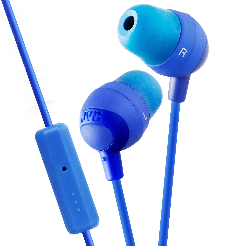 amazon com jvc hafr37a marshmallow headphones with mic blue home rh amazon com JVC User Manual KD-G430 Motorcycle JVC User Manual KD-G430 Motorcycle