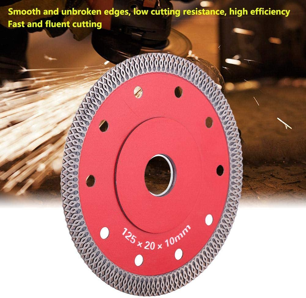 115//125 mm Diamant-Trennscheiben-S/ägeblatt f/ür Ceramic Microlite trockene Eckschneider ultrad/ünn
