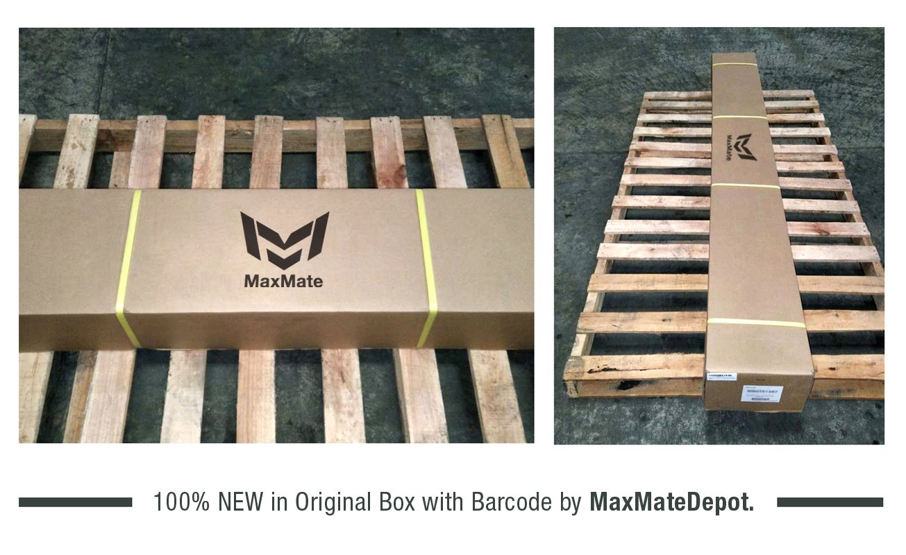 MaxMate Custom Fit 2009-2018 Dodge Ram 1500 Quad Cab Stainless Steel 3 Side Step Rails Nerf Bars Running Boards