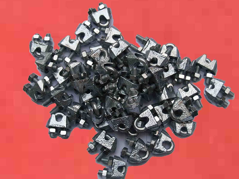 Promotion Serre Cable é trier Dia Fil 3-4 mm Galva ( Lot de 50 ) FP INOX