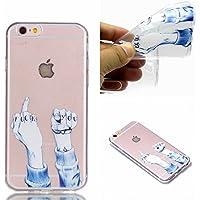 BONROY iPhone 6 6S (4,7 Zoll) Hülle - Handyhülle für iPhone 6 6S (4,7 Zoll) -Fuck You