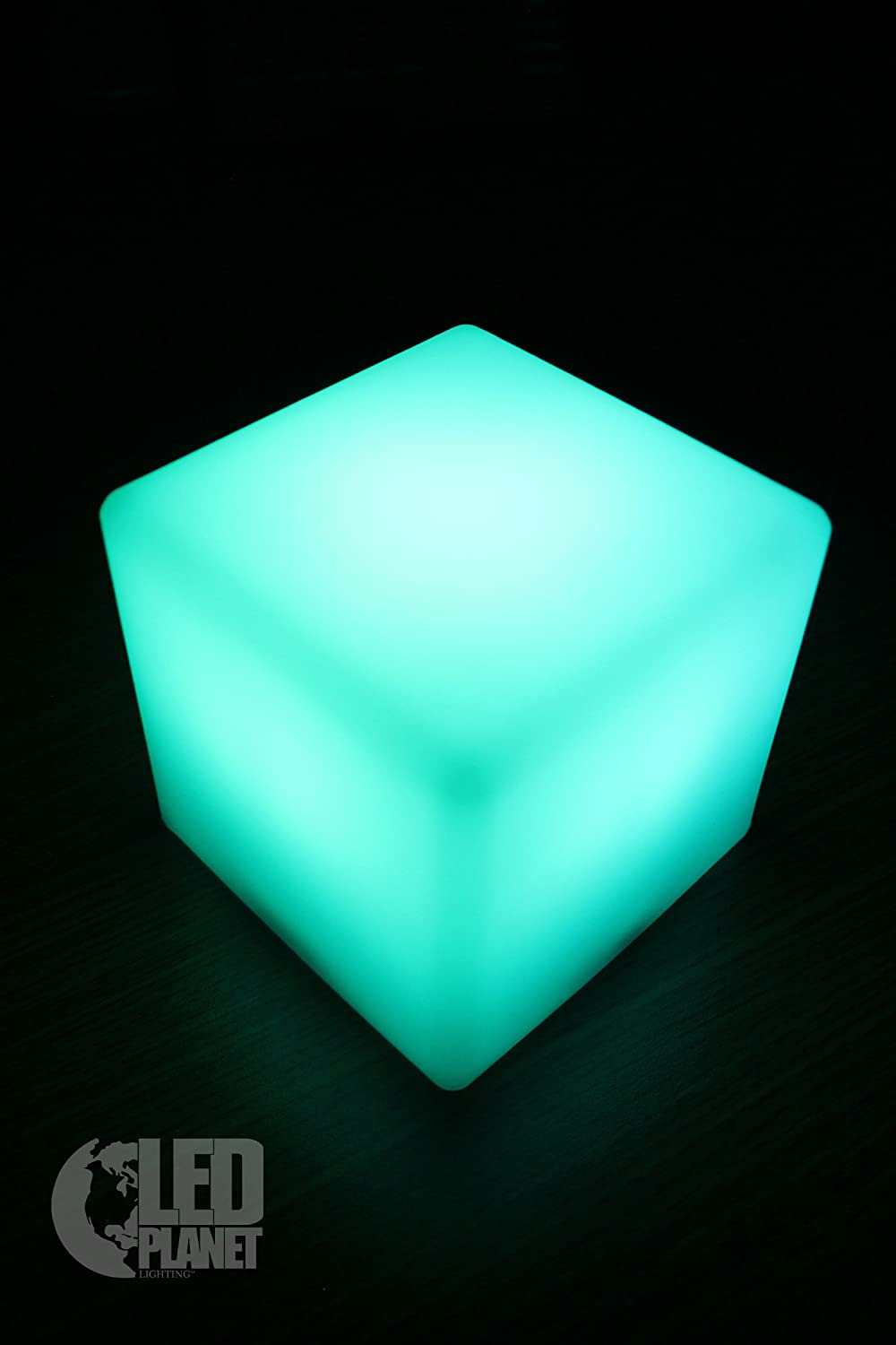 Com buy 10cm cube decorative battery operated rgb led table lamps - Led Light Cube 4 Inches Night Light Lamp Bar Restaurant Table Lamp Led Household Light Bulbs Amazon Com