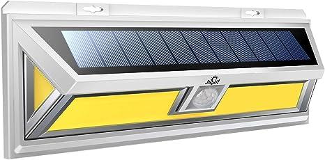 1200LM 180 LED COB Solar Wall Light Motion Sensor Outdoor Garden Security Lamp