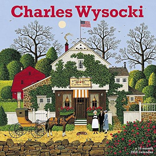 2018 Charles Wysocki Wall Calendar (Day Dream)