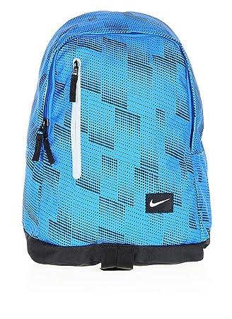 Nike All Access Halfday Mochila, Hombre, Azul (Lt Photo Blue/Negro / (White), Talla Única: Amazon.es: Deportes y aire libre