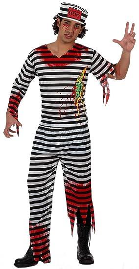Atosa - Disfraz de halloween preso para hombre, talla XL ...